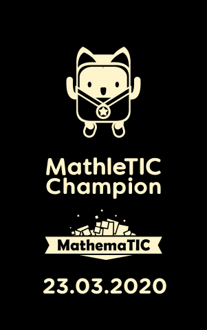 23/03/2020 MathleTIC Challenge
